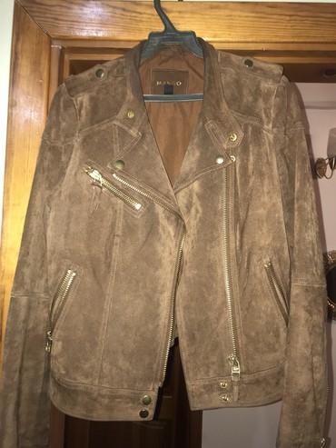 замшевые куртки в Кыргызстан: Женские куртки Mango S