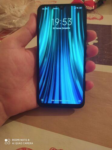 Adaptör başlığı - Azərbaycan: İşlənmiş Xiaomi Redmi Note 8 32 GB qara
