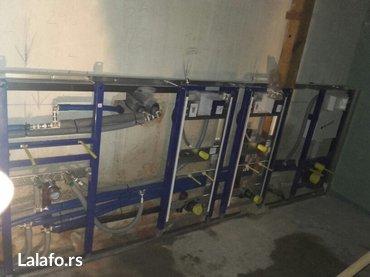 Vodoinstalater radim sve vodoinstalaterske radove zamena starih cevi u - Beograd