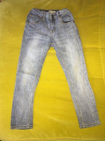 Детские джинсы, состояние отличное, размер: 5-7лет