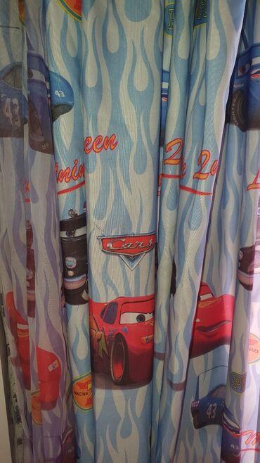 Продаю детские шторы. Размеры 2,40 на 2 м две половинки и тюль 2,40 на
