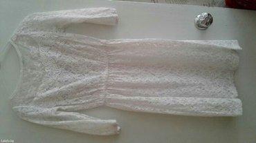 Очень красивое белое платье в Бишкек