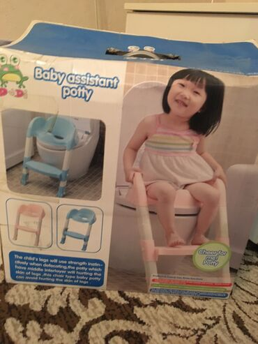 Детское сиденье для унитаза со ступенькой. Купили но ребёнок отказы