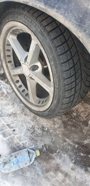 BMW E38 E39 E34 продаю диски с новыми резинами R18 225/40/18 диски ров