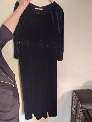 платье бархатное в Кыргызстан: Бархатное вечернее платье  Турция Размер 46турецкий размер Стразы не в