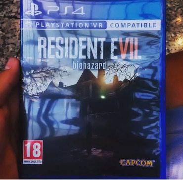 Bakı şəhərində Resident evil 7