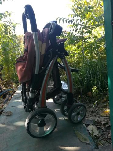 все за 3000 в Кыргызстан: Продаю коляску, состояние хорошее. 3000 сом