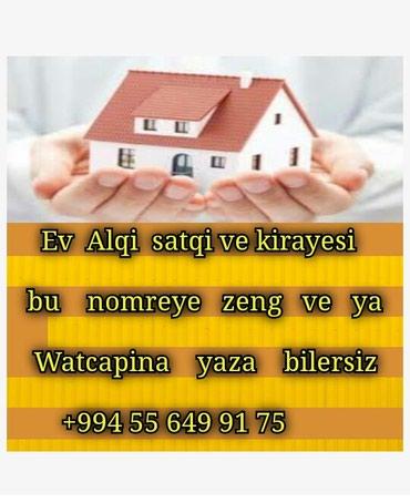 Emlak ev alqi satqi kiraye 400 azn в Bakı