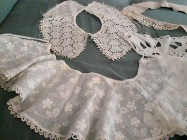 Kragnice za bluze od raznog materijala:heklane, kožne.. i ostalo od - Novi Sad