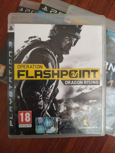 "Sony Playstation 3 Modelleri Üçün ""OPERATİON FLASHPOİNT DRAGON RİSİNG"""