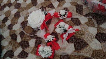 Cvetici za kicenje svatova.. moguca izrada u svim bojama i oblicima po - Kosovska Mitrovica