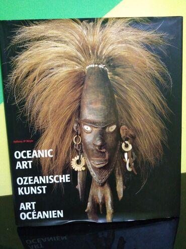 Francuski jezik - Srbija: Oceanic Art-Novo-Na tri jezika, engleski, francuski i Holandski. RET