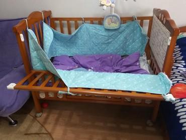 Детская кровать манеж!Без матраса.Так же имеется люлька