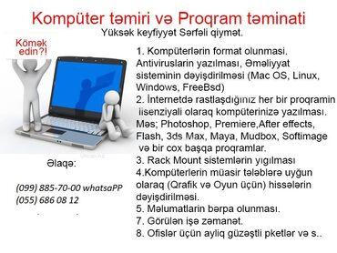 4 ilə audi - Azərbaycan: Photoshop, CorelDraw, AutoCAD, Autodesk Revit, ArchiCAD, 3Ds Max +