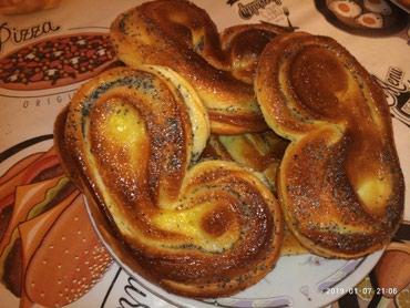 Аппетитные домашние большие булочки с в Бишкек