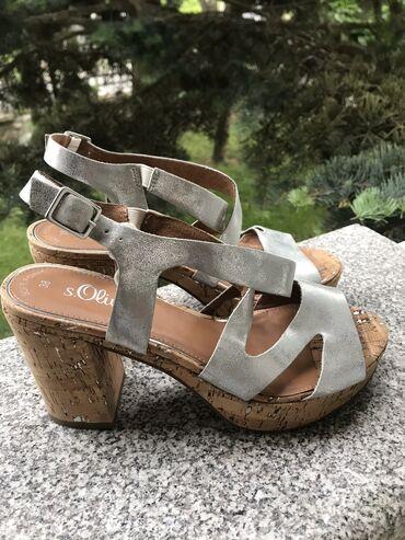 S oliver sandale, broj 38 i 39 prodajem veoma povoljno