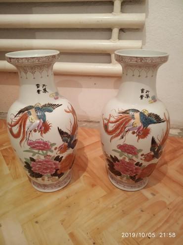Вазы - Кыргызстан: Кувшин,ваза. за 2шт 10тыс реальному клиенту уступлю . высота 48см