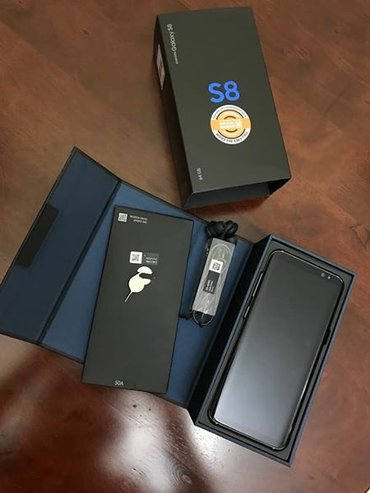Brand new sealed original Samsung S8 64Gb comes with the full in Kathmandu