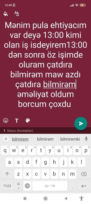 yardima ehtiyacim var in Azərbaycan | OFISIANTLAR: Bilen varsa yazsın 13:00kimi iş isdeyireme çox ehtiyacım var
