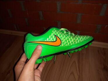 Kopacke nike - Srbija: KOPACKE Nike magista opus u dobrom stanju nosene par puta broj 37.5
