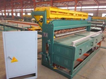 станок для сетки мак в Кыргызстан: Станок для производства сварной огражденной сетки1.Станок работает по