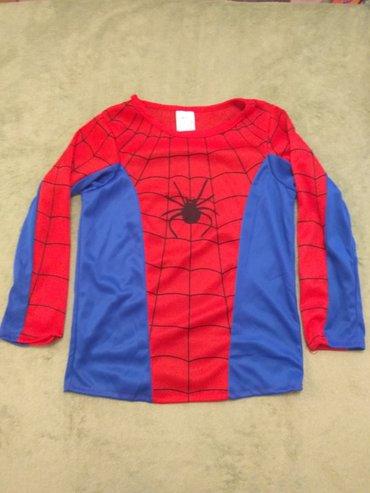 Pamucna haljinaduzina cm - Srbija: Spiderman kostim, gornji deo (dužina 46 cm, širina 37 cm, dužina