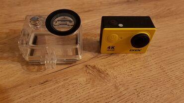 eken ultra hd в Азербайджан: Action Camera EKEN + 64GB miniSDcard Ideal Vəziyyətdə