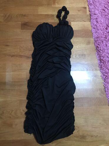 Ostalo | Indija: Elegantna moderna haljina rastegljiv materijal velicina S . Cena snize