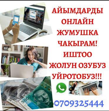 Работа - Кыргызстан: Менеджер по продажам. Без опыта. Ночная работа