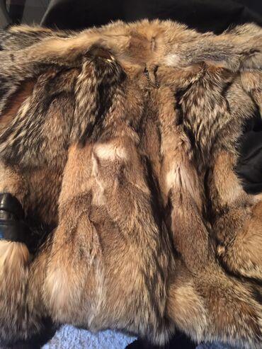 мужская компрессионная одежда в Кыргызстан: Мужская дубленка, новая, кожа 100%, мех 100% канадский волк, премиум