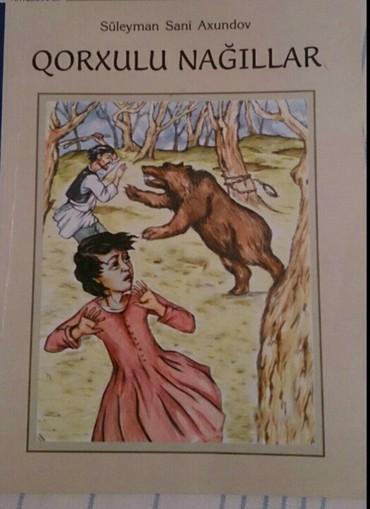 masa kitabı - Azərbaycan: S.S.Axundov. Nağil kitabi. Kitab tezedir