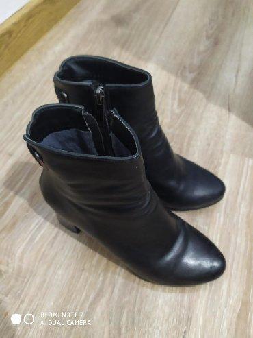 Женская обувь - Кыргызстан: Продаю осенний полуботинок фирма ЕST, одевала пару раз 37 размер