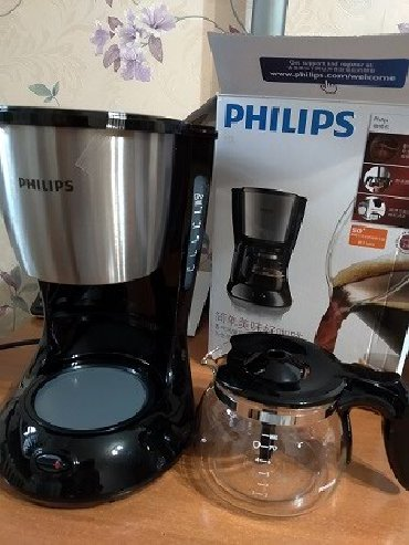 кофемашина wmf presto в Кыргызстан: Продается Новая Кофемашина Philips HD 7434.* Со стеклянным кувшином*