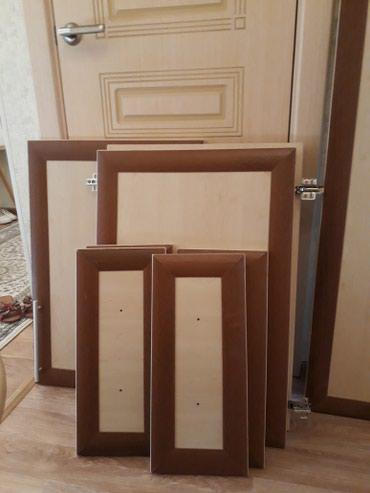 шкаф-3 в Кыргызстан: Продаю ламинат(дверцы от шкафа)недорого. 190×50 1шт. с зеркалом 145×5
