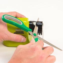 Makaze - Srbija: Oštrac noževa swifty sharpkarakteristike:- radi po tradicionalnom