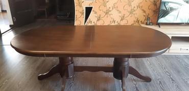 стол трансформер чёрного цвета в Кыргызстан: Продается стол,производится Малайзияматериал:дерево,требуется