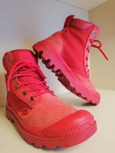 Palladium - Srbija: PALLADIUM vodootporne crvene cipele  Broj 36  Potpuno očuvane