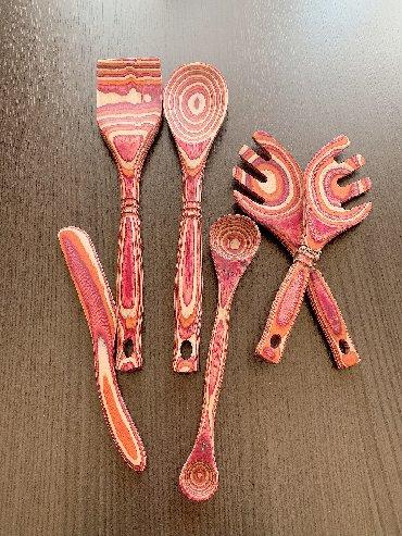 буфет кухонный в Азербайджан: Деревянные кухонные принадлежности. США . Новые . Цена 25 манат