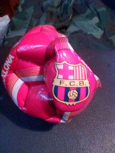 Fudbal,barcelona,,izduvan,nov,potrebno naduvati