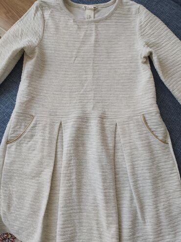 теплые полы бишкек цена в Кыргызстан: Платье детское, возраст 8-10 лет, одевали 1 раз, ткань 60% хлопок, 40%