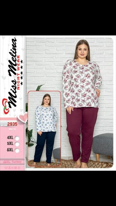 pijama - Azərbaycan: Boyuk beden pijama.Bordo rengi 25m