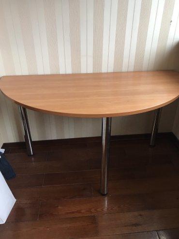 Шикарный удобный стол со сьемными ножками!!!! новый!!! уезжаем!!! в Лебединовка