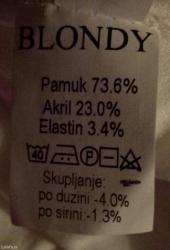 Zlatna-haljina-blondy-radnji-placena - Srbija: Haljina blondy. Jednom obucena