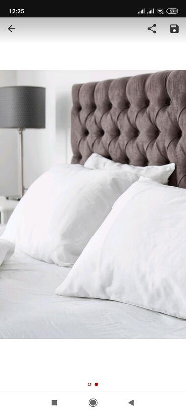 Подушка с искусственным лебяжьим пухомКрепкий сон обеспечен!Удобная