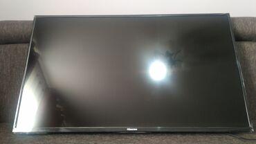 телевизор самсунг 54 см в Кыргызстан: Продаю тв 43 дюйм 110 см. сост. идеал. Т2 санарип. Full HD. ножки нет