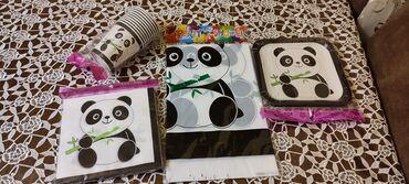 Ən sevimli dəstlərimizdən Panda Party dəsti 🐼😍Dəstə daxildir:💥 Süfrə-