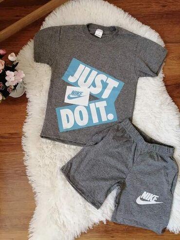 Ostala dečija odeća | Novi Knezevac: Majica i sorc za decake 100% pamuk Velicine od 2 do 14