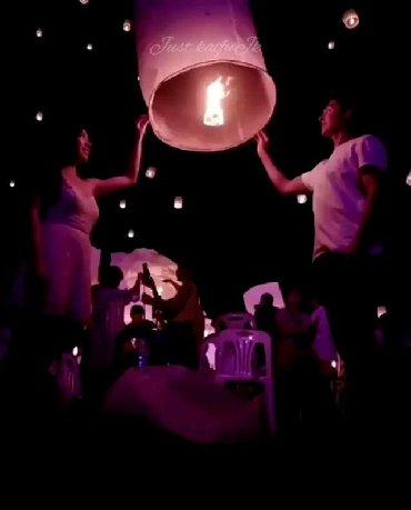шары фонарики в Кыргызстан: Небесные фонарики-Огоньки -Летающие фонарики-Летающие огоньки
