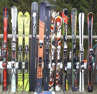 Продаю бу лыжи из Европы, прямая в Бишкек