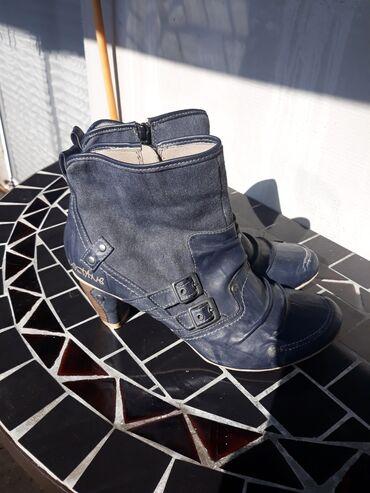 Ženska obuća | Gornji Milanovac: Mustang čizmice,dva puta obuvene,broj 41